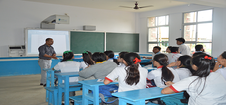 Students' interaction with Polaris Solution